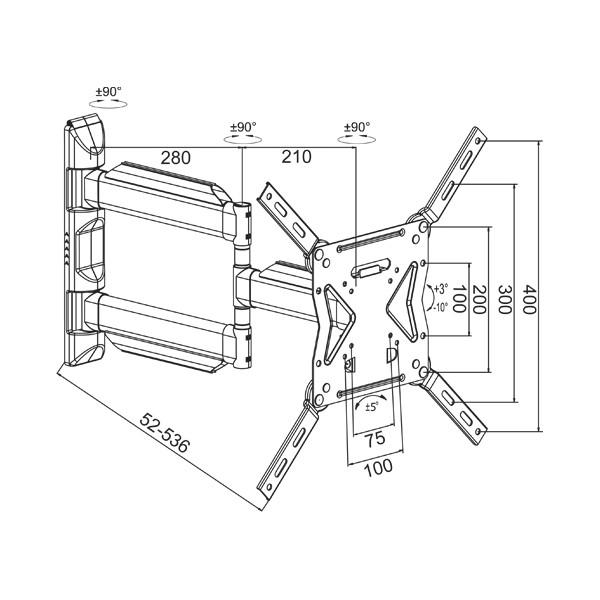 Инструкция по креплению кронштейна кронштейнам